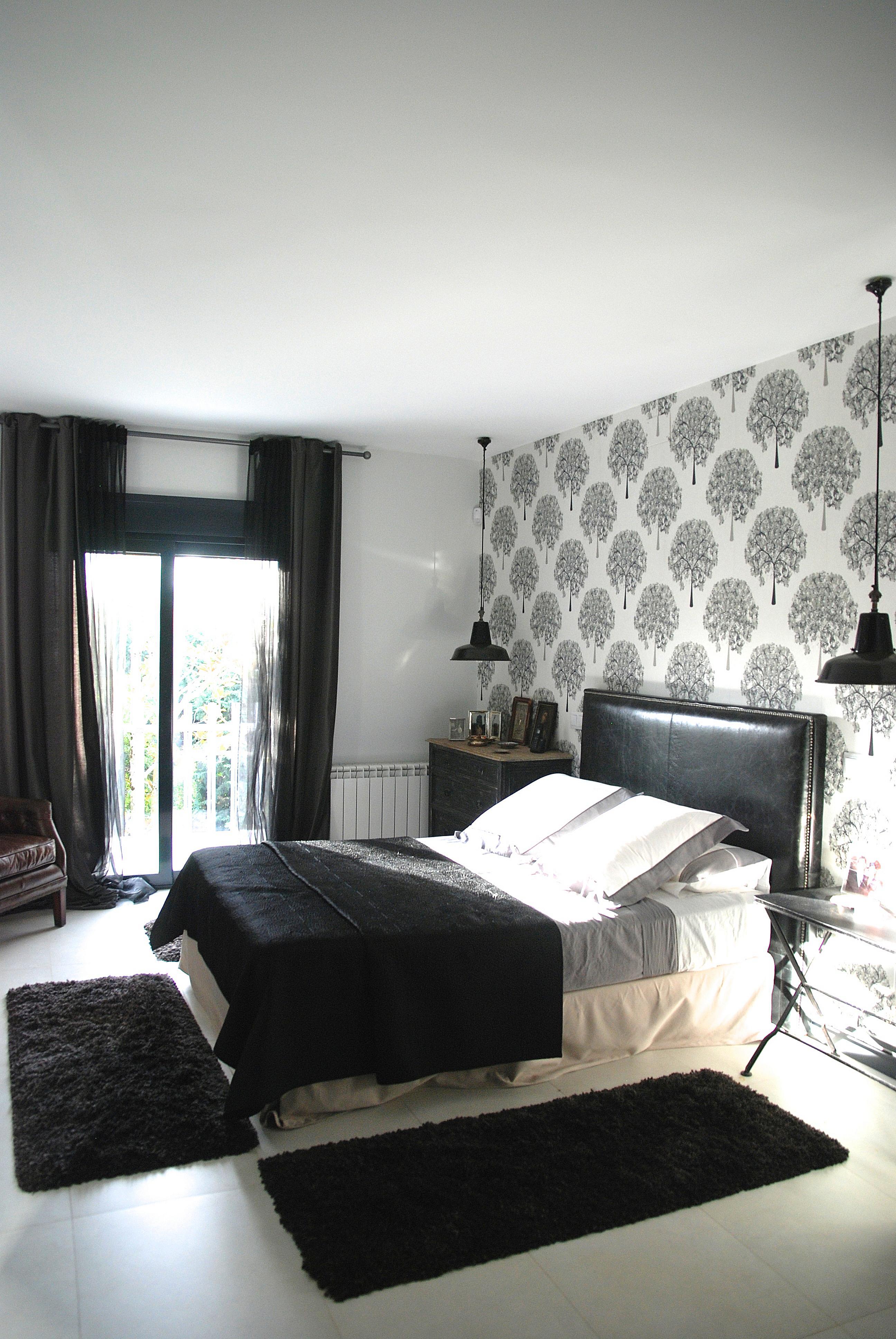Dormitorio decorado por el estudio Libia Bárcenas