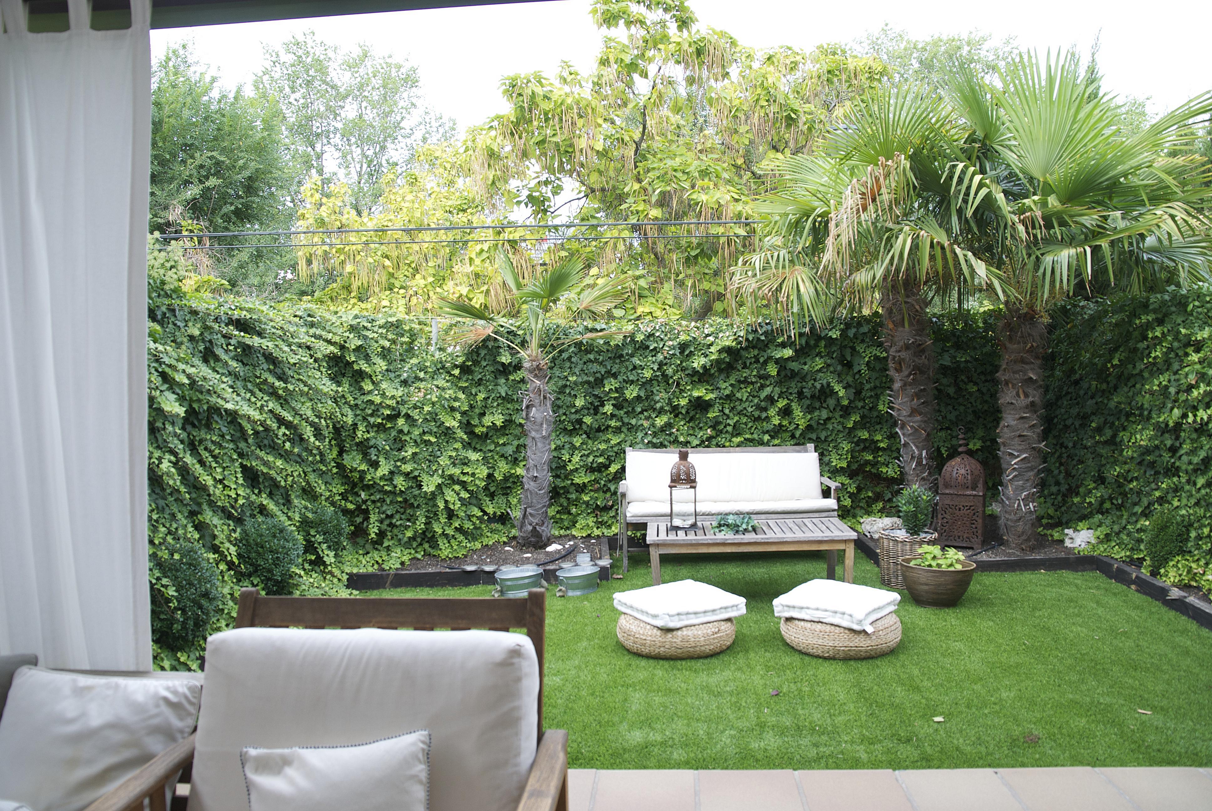 Jardín decorado por el estudio Libia Bárcenas