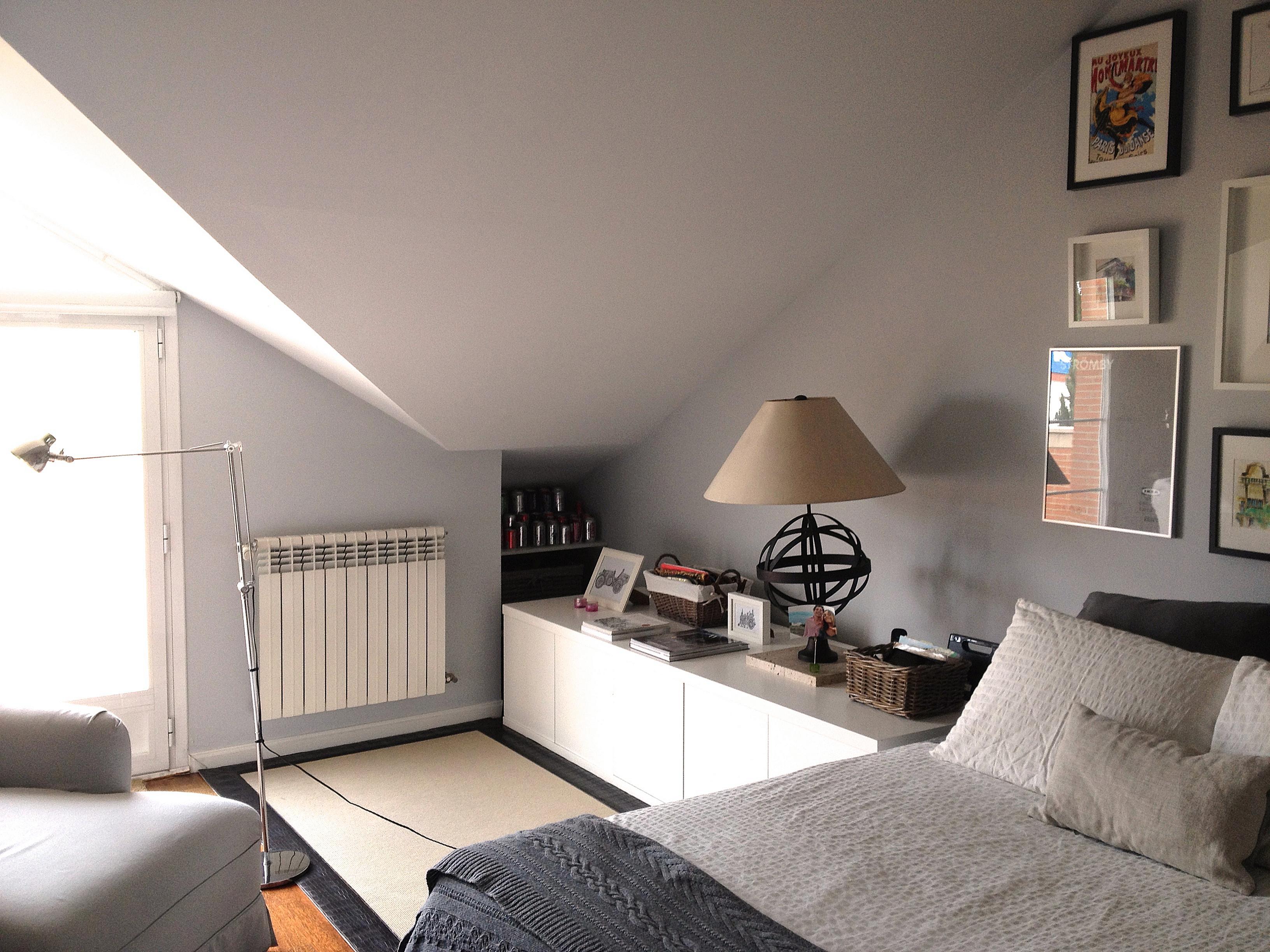 Dormitorio decorado y reformado por el estudio Libia Bárcenas