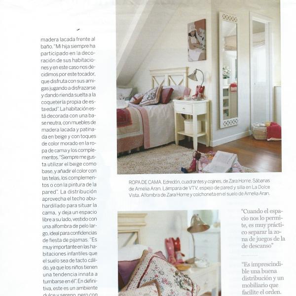 Claves de la decoradora Libia Bárcenas en la revista El Mueble