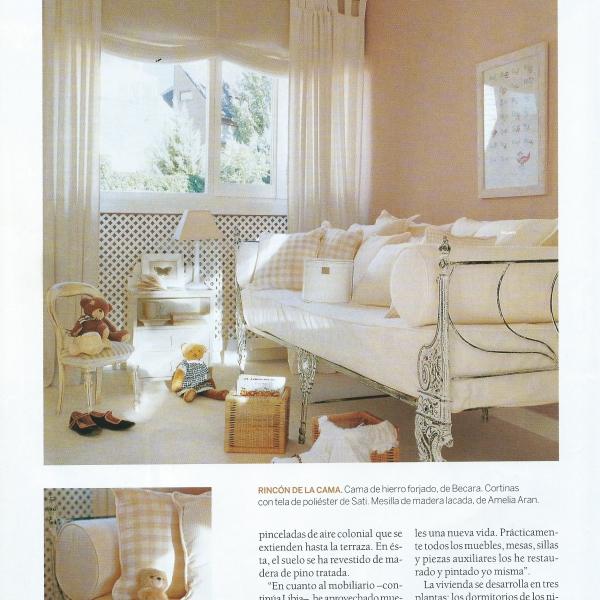 Dormitorio infantil decorado por Libia Bárcenas