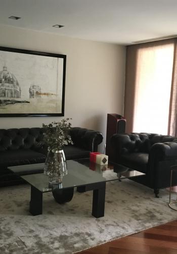 Sala de estar. Proyecto París Libia Bárcenas.