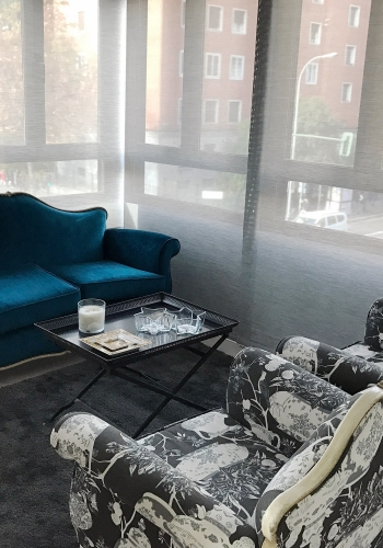 Sala de estar reformada y decorada por el Estudio Libia Bárcenas